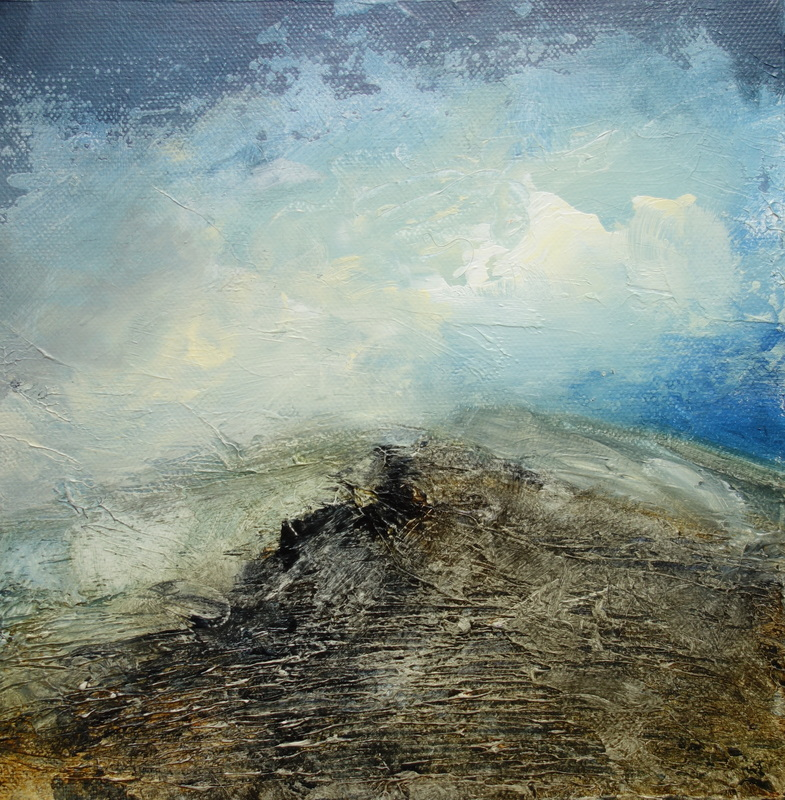 The wind sweeps across the hills - Gareth Buxton