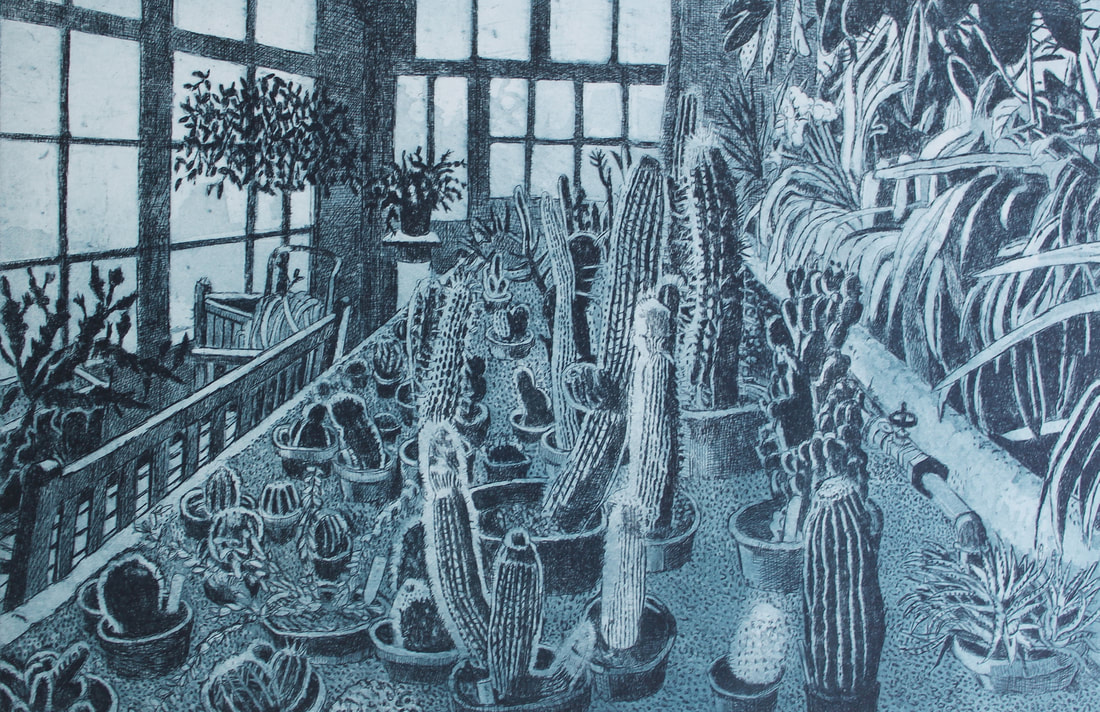 Janis Goodman- Cacti in the Orangery
