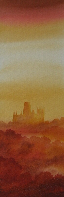 Evening, Durham Ian Scott Massie watercolour	£295