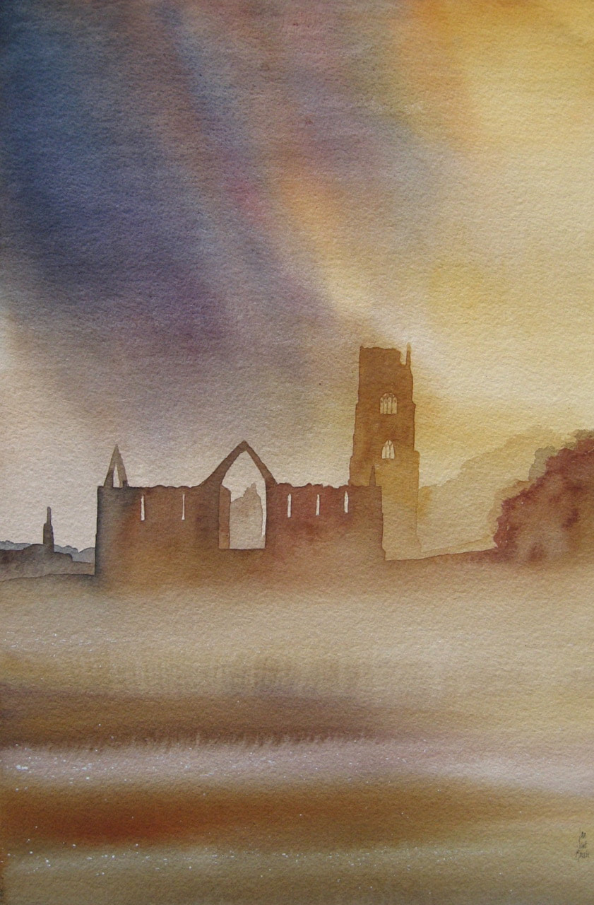 Ian Scott Massie - Fountains Abbey, Evening