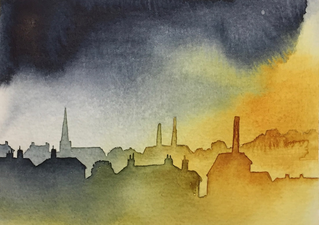 Architecture in Watercolour: 2 Using Layers
