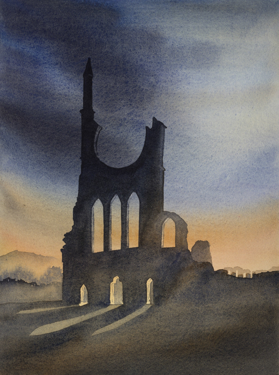 Ian Scott Massie - Byland Abbey, West Front