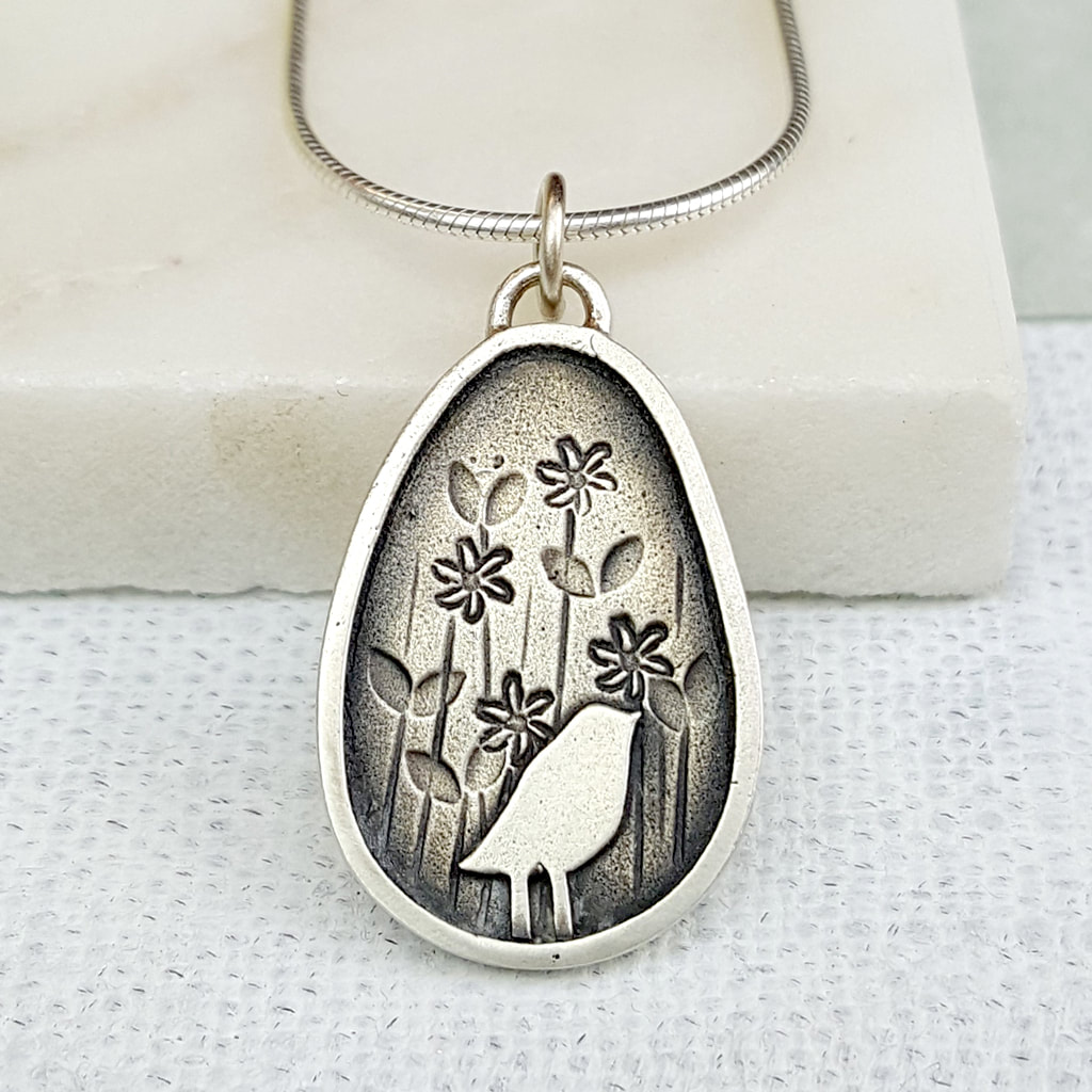 Helen Shere - Bird Silhouette Necklace